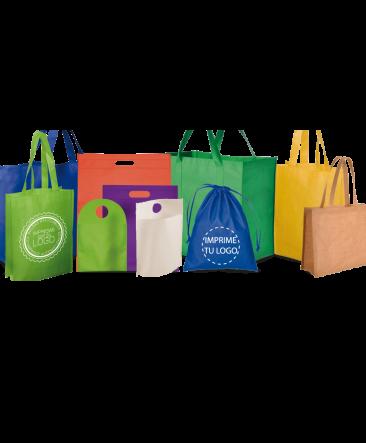 Bolsos ecológicos y bolsos cosidos