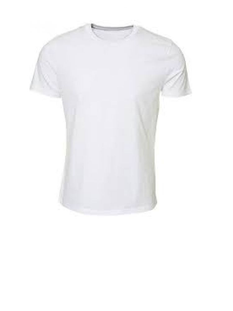 Camiseta publicitaria tipo cuello redondo