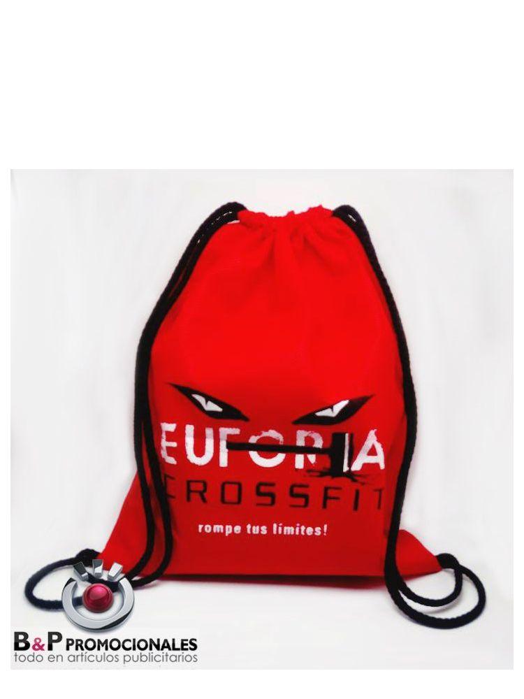 Bolsos tipo mochila en tela cambrela ecológica