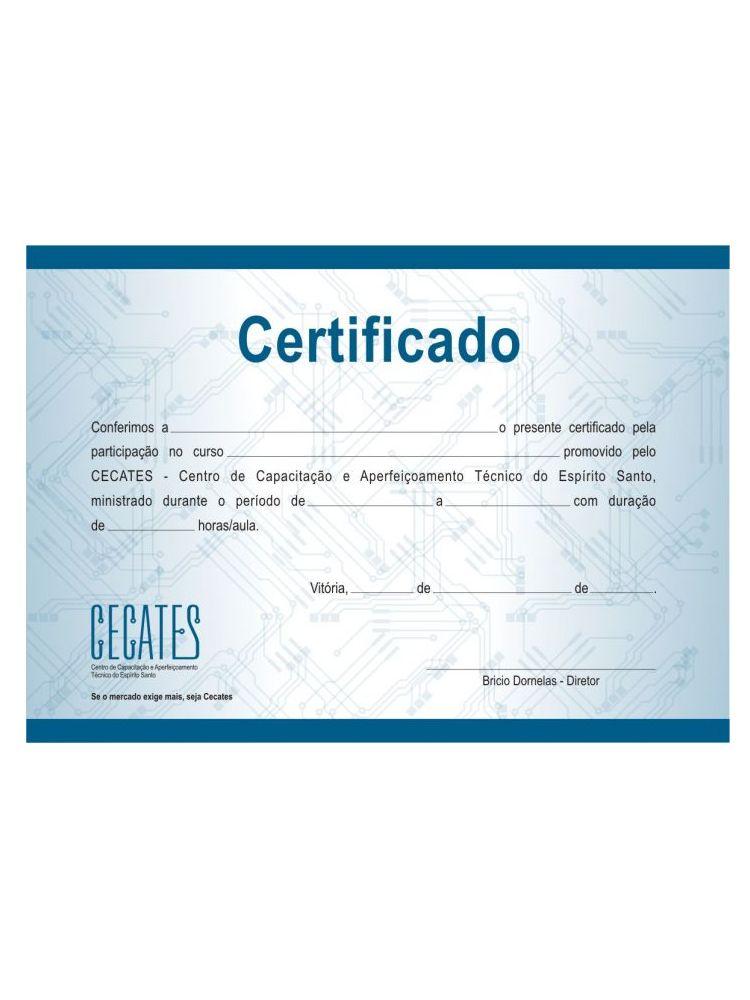 Certificados impresos