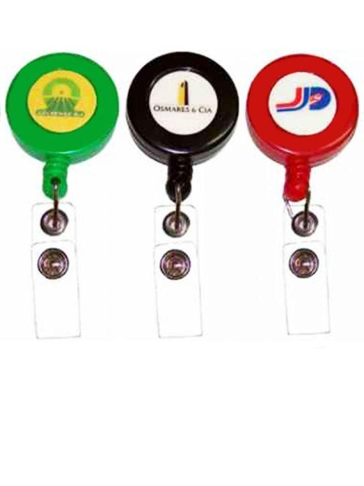 Yoyo plástico retráctil con logotipo encapsulado