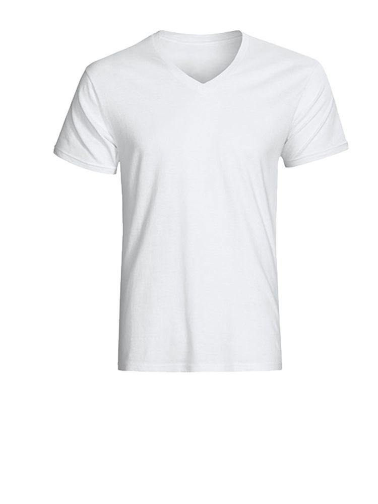 Camiseta publicitaria tipo cuello en V