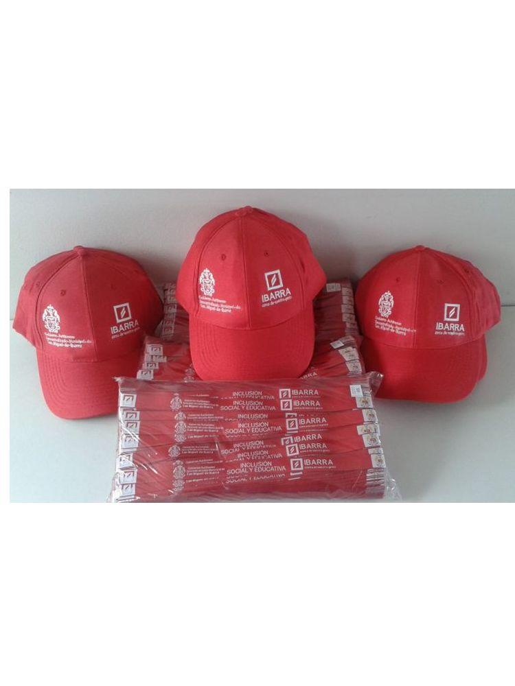 Gorra promocionales varios bordados
