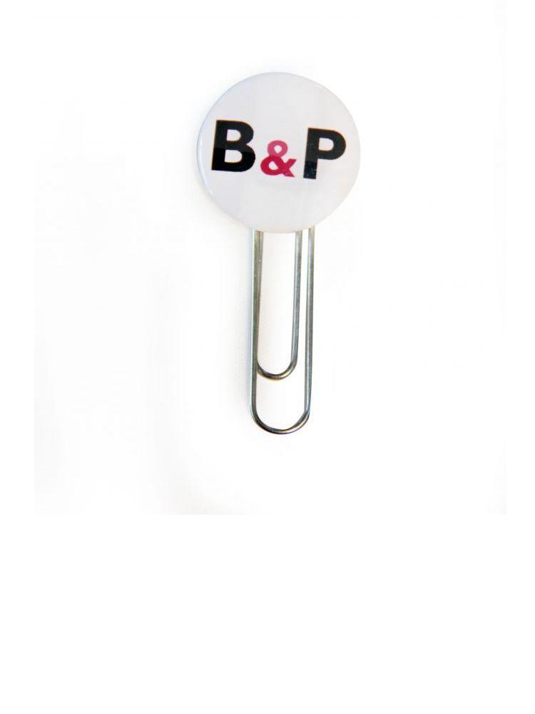 Botón clip metálico para oficina
