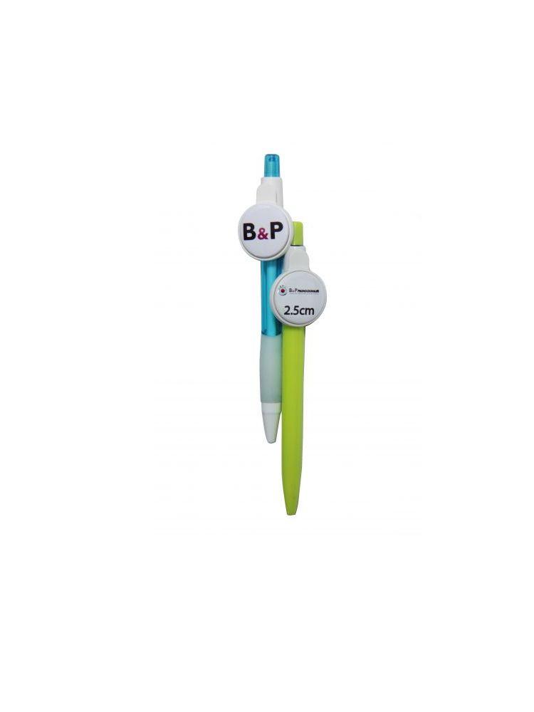 Botón esfero touch plástico promocional