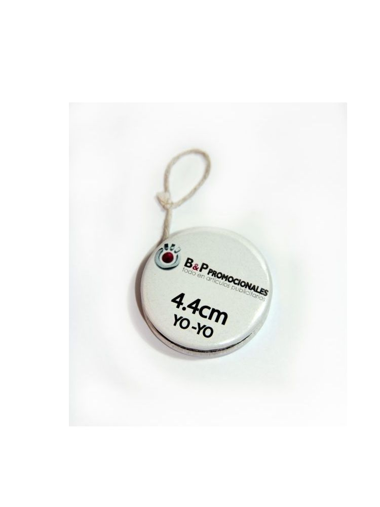 Botón Yo-yo de 4.4 cm de diametro