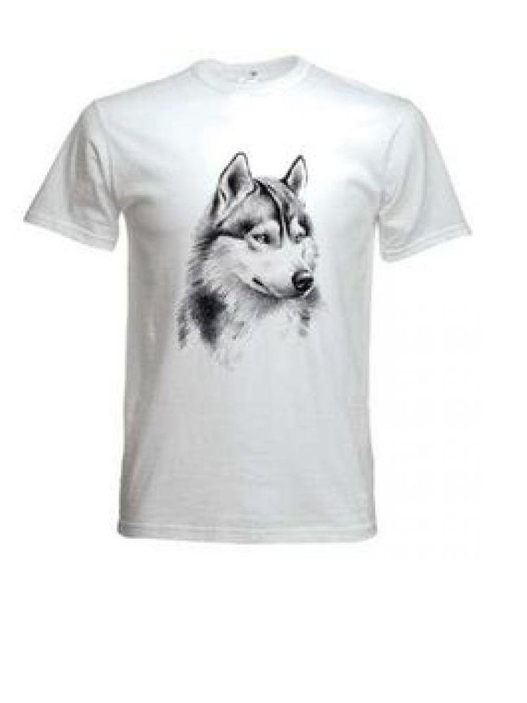 Camiseta semialgodón con serigrafía