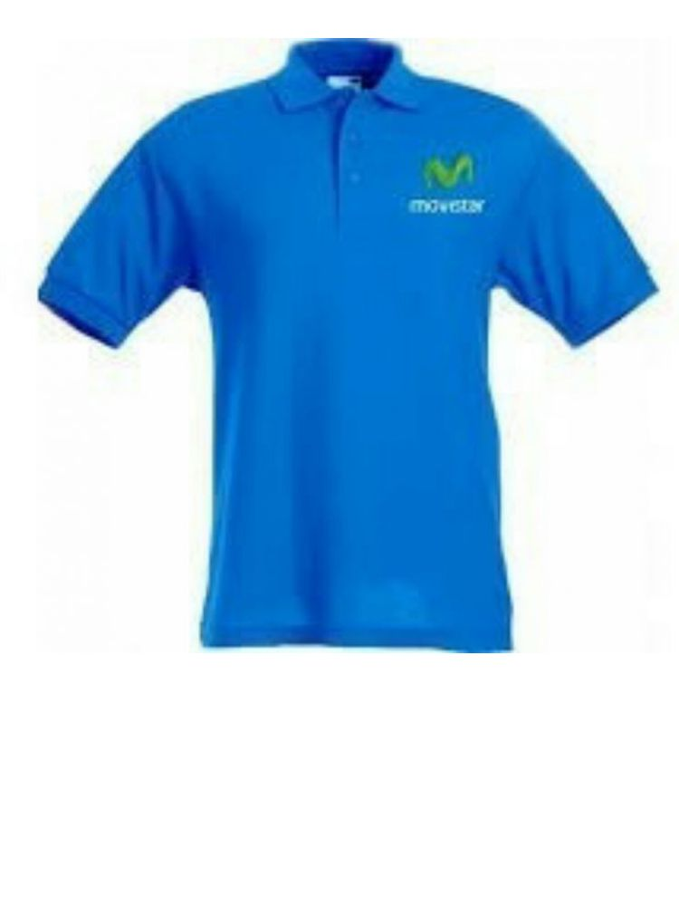 Camiseta polo bordada