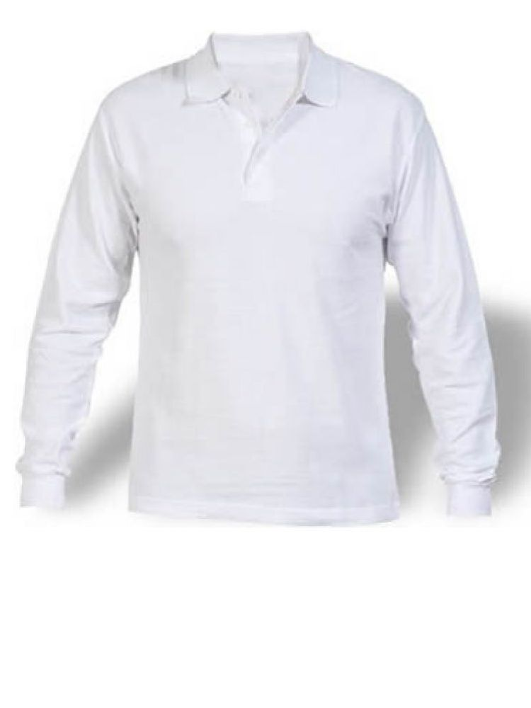 Camiseta buso polo bordada manga larga