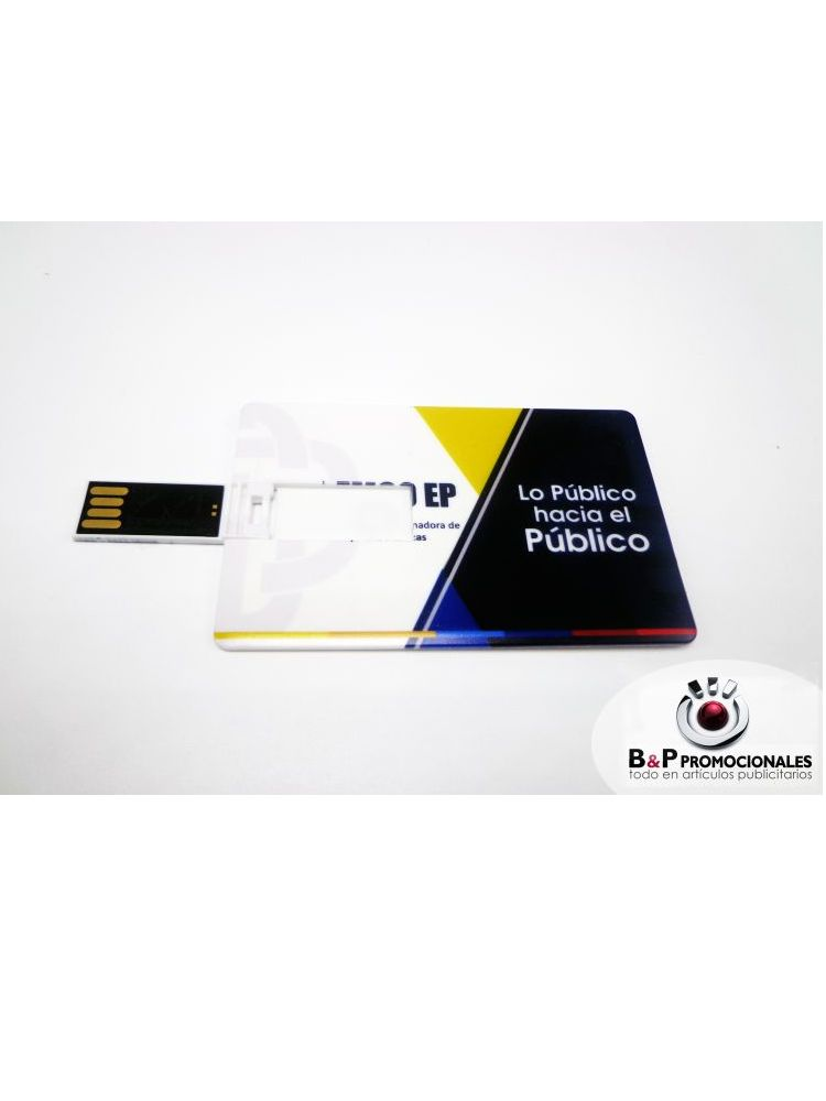 Credenciales full color USB