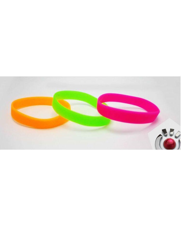 Pulseras de silicon neon