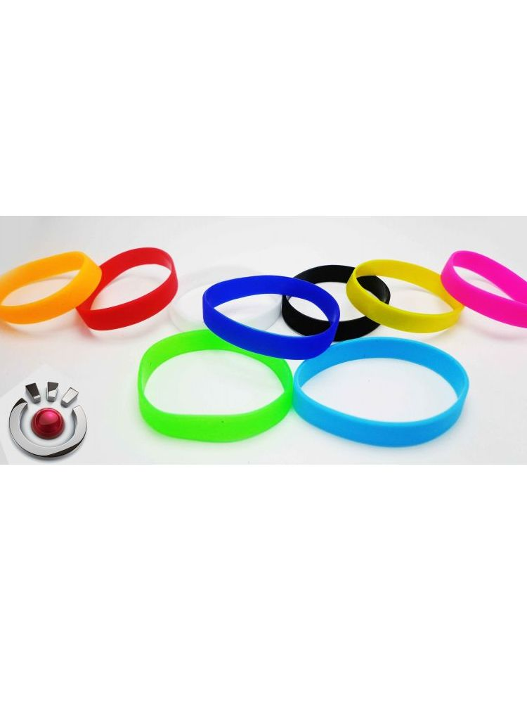 Pulsera de silicon colores mate