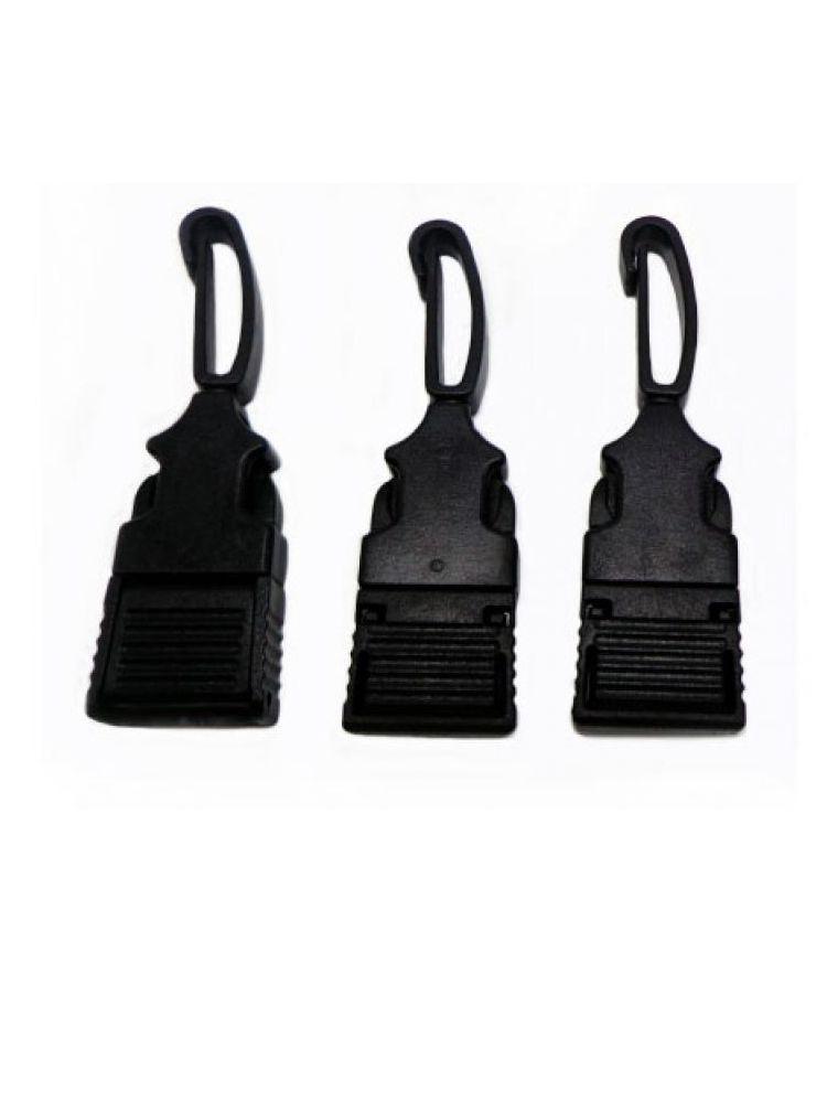 Sujetador plástico negro
