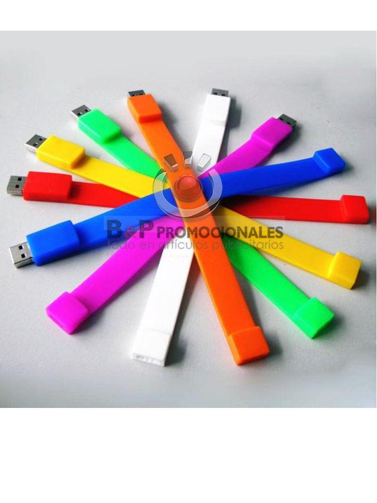 Pulsera de silicon USB para ADULTOS