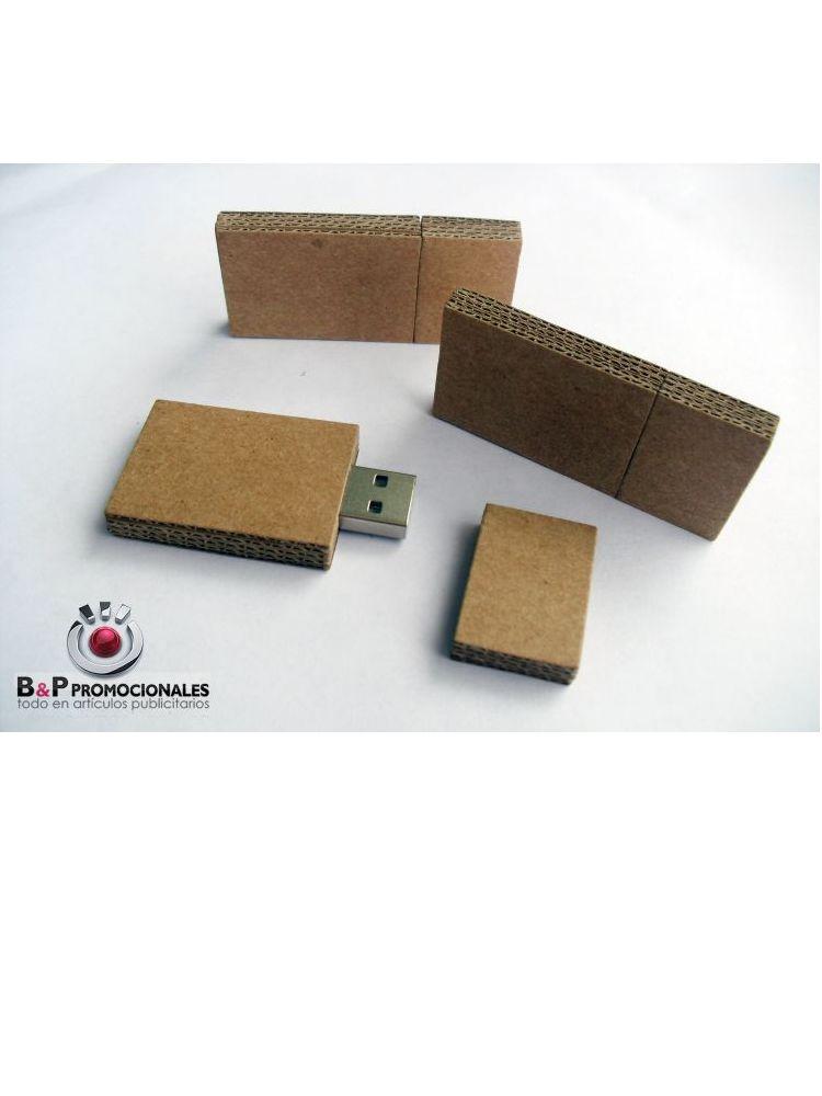 Usb ecológico modelo cartón