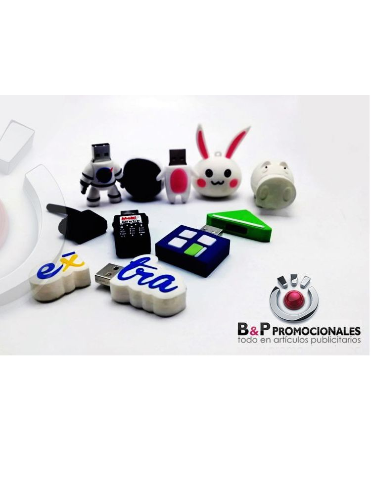 Usb Microinyectados alto relieve