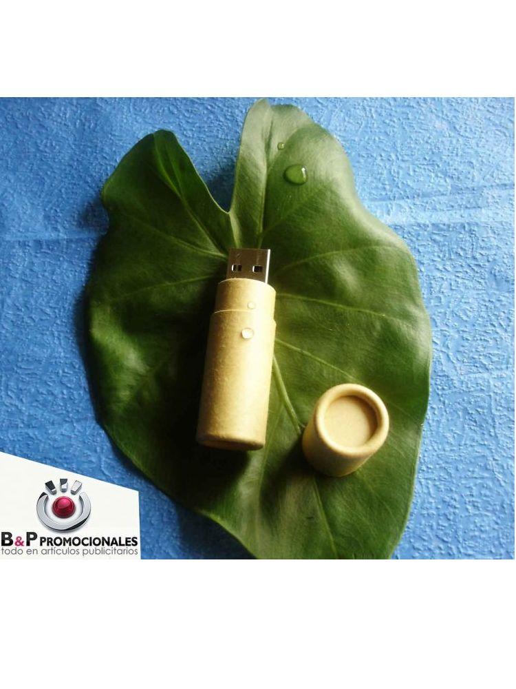 Usb Ecológico cilindrico